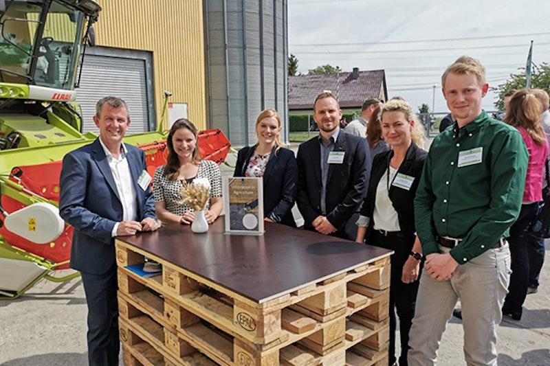 V.l.n.r Corné Kempenaar, Marije Klever, Daniela Walter, Lucas Pieper, Caroline Bartsch en Gert Sterenborg